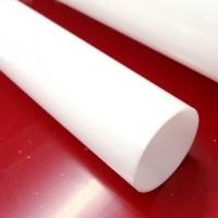 Rury z PLEXI mleczne - OPAL długość 200 cm