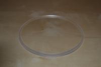 Dekielki bezbarwne PMMA frezowane do rur plexi o średnicy fi50 mm