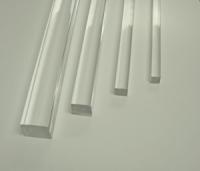 Pręty kwadratowe z PLEXI (PMMA) bezbarwne